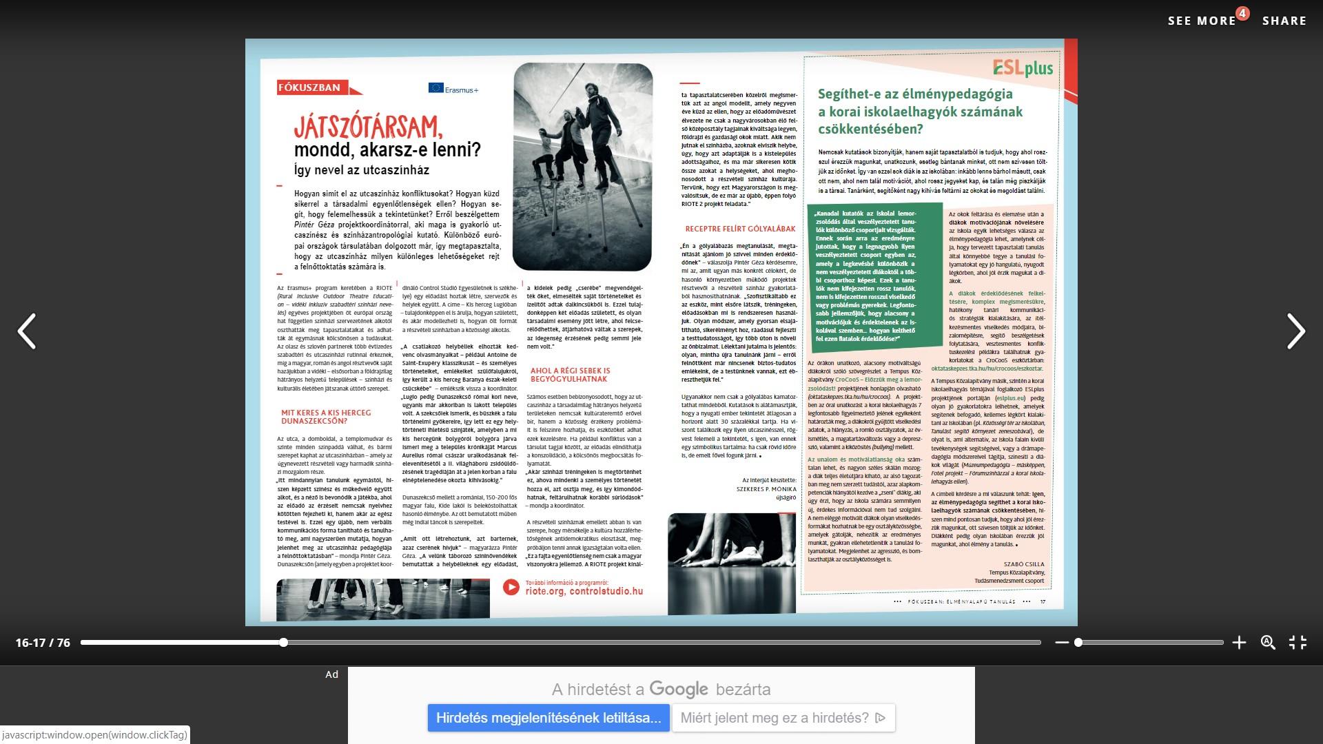 Pályázati Pavilon - 2019 tavaszi szám by TKA Könyvtár - issuu.html